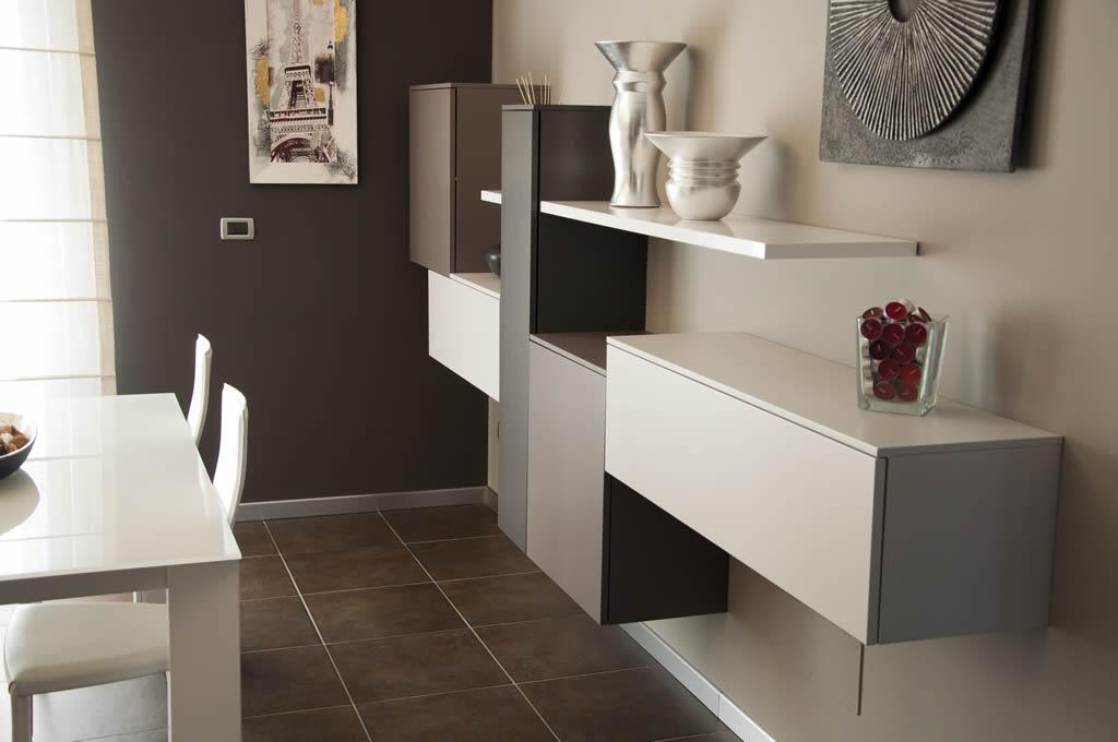 Arredamento di un living room moderno Torino - Piovano Home Design